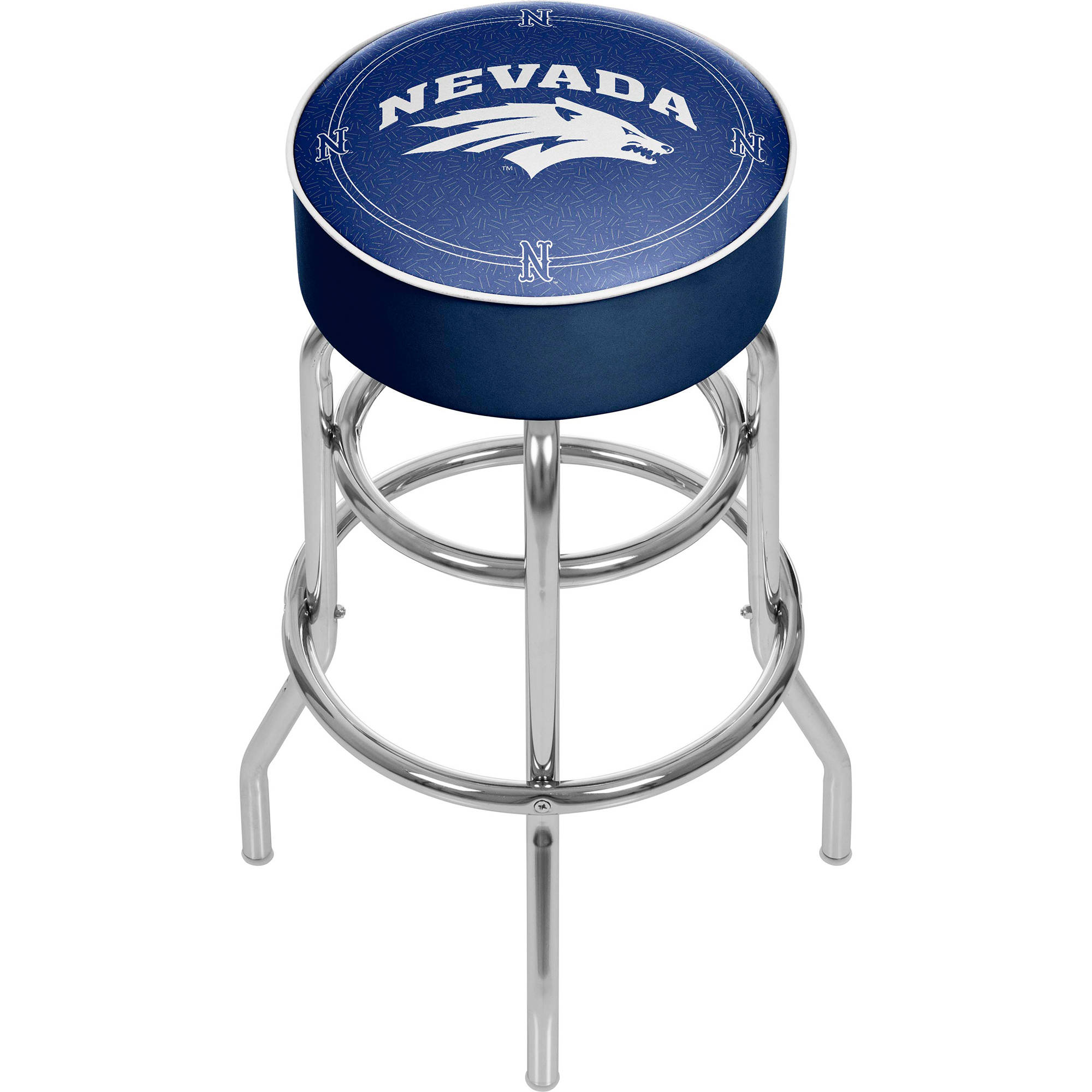 University of Nevada Padded Swivel Bar Stool
