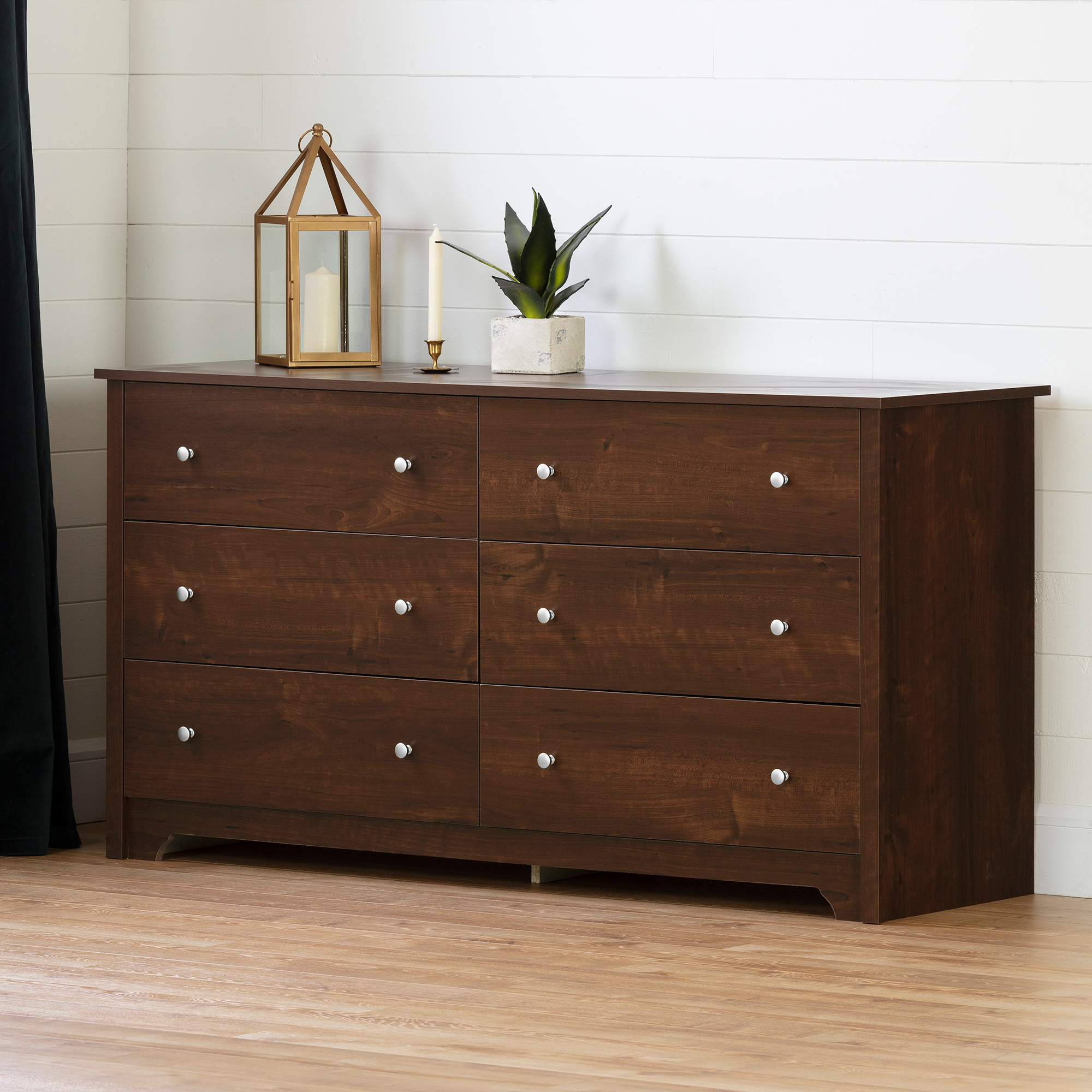 South Shore Concord 5 Drawer Chest in Somptuous Cherry Finish