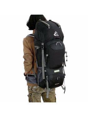Product Image Free Knight FK0399 60L Large Capacity Waterproof Backpack  Black 1de9f7bb0c1ce
