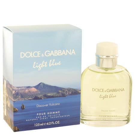 08fc9f449b6b Dolce   Gabbana - Dolce   Gabbana Light Blue Discover Vulcano Eau De  Toilette Spray for Men 4.2 oz - Walmart.com