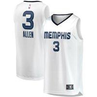 Grayson Allen Memphis Grizzlies Fanatics Branded Youth Fast Break Replica Jersey White - Association Edition