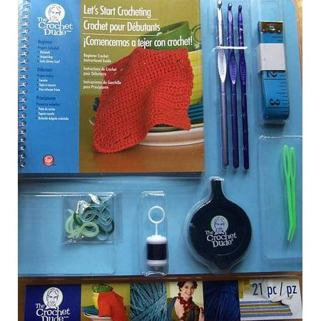 Boye Beginner Crochet Kit From The Crochet Dude Walmartcom