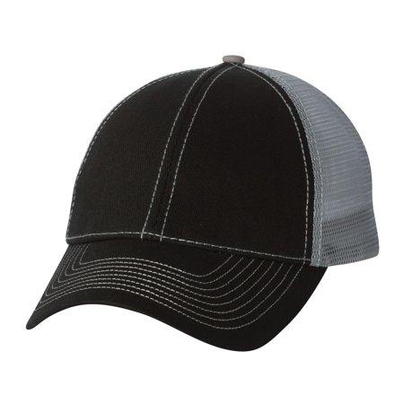 7641 Heavy Cotton Twill Front Trucker Cap