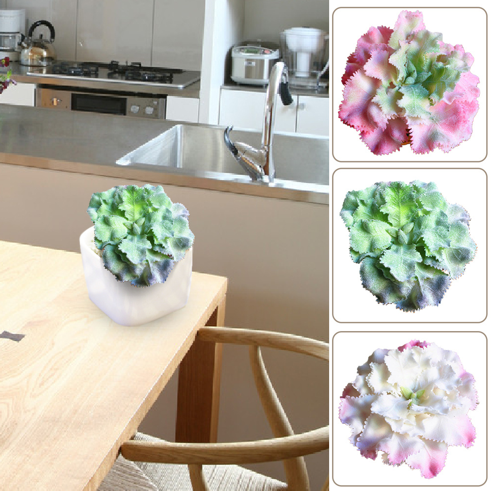 Fake Succulent Plants for Home Weeding Office Decoration