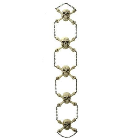 """56"""" Chaîne Gruesome squelette suspendu décoration d'Halloween # 65858 - image 1 de 1"""