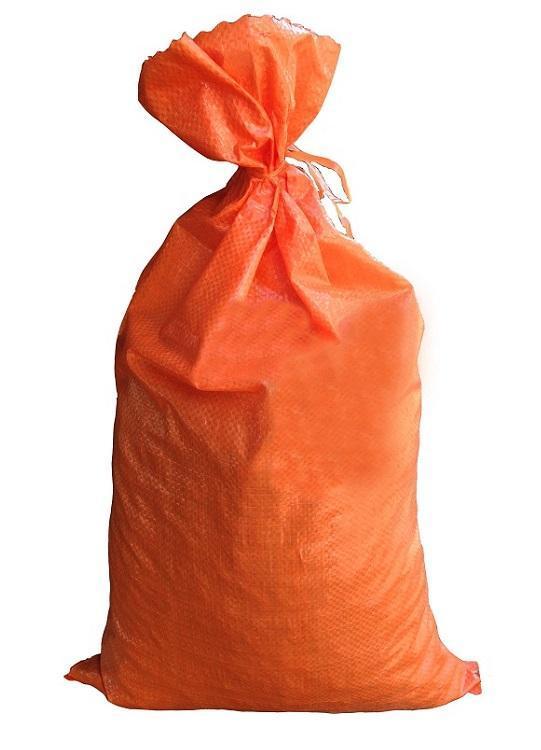 Flood Water Barrier Water Curb 1000 Orange Sandbags Sand Bag Tent Store Bags by Sandbaggy Sandbags for Flooding Size: 14 Inch x 26 Inch Orange
