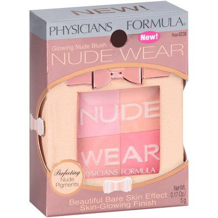 Bush Rose (Physicians Formula Nude Wear Glowing Nude Rose 6238 Blush .17 oz. Box )