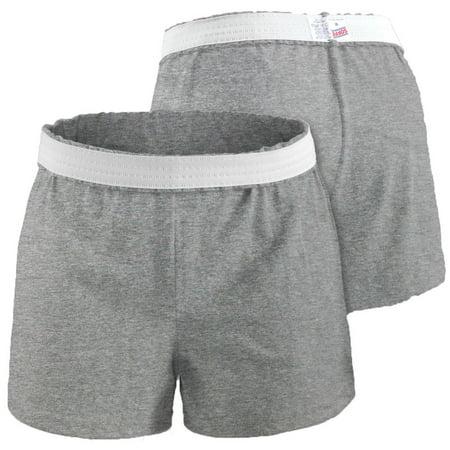Soffe Juniors' Cheer Shorts (Grey Heather, 2X) (Blue Cheer Shorts)