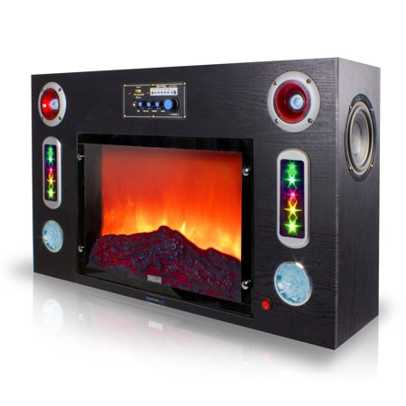 Technical Pro Electric Fireplace Bluetooth Entertainment Center