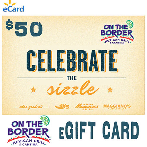 (Email Delivery) On The Border $50 eGift Card