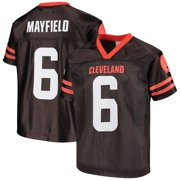 Youth Baker Mayfield Brown Cleveland Browns Player Jersey
