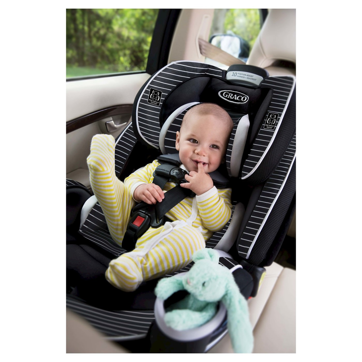 Graco Baby 4Ever All-in-1 Convertible Infant Car Seat ...