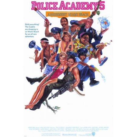 Police Academy 5 Assignment Miami Beach Movie Poster (11 x 17)
