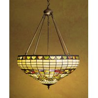 "Meyda Tiffany 29510 Tiffany Glass 3 Light 23"" Wide Pendant"