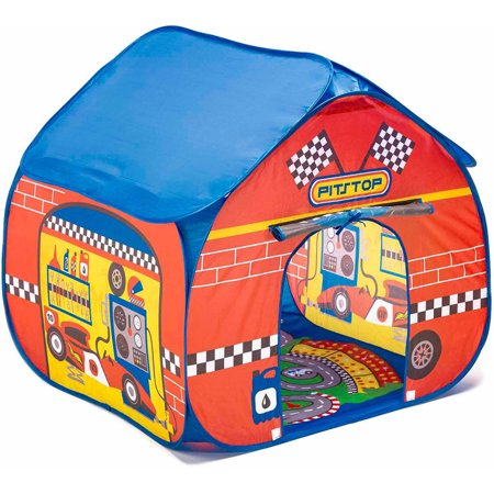 - Fun2Give Pop-it-Up Pit Stop Tent with Race Mat