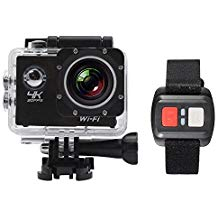 Andoer 2 LCD Screen Wifi Sports Action Camera 4X Zoom 170 Wide angle 4K 30fps 1080P 60fps 16MP Waterproof 30M