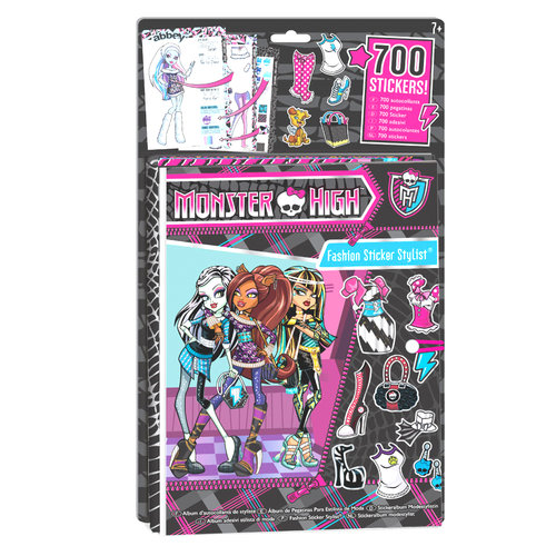 Monster High Fashion Sticker Stylist