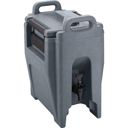 Cambro 2.75 Gal. Insulated Beverage Dispenser, Ultra Camtainer, Granite Gray, UC250-191 (Insulated Dispenser)