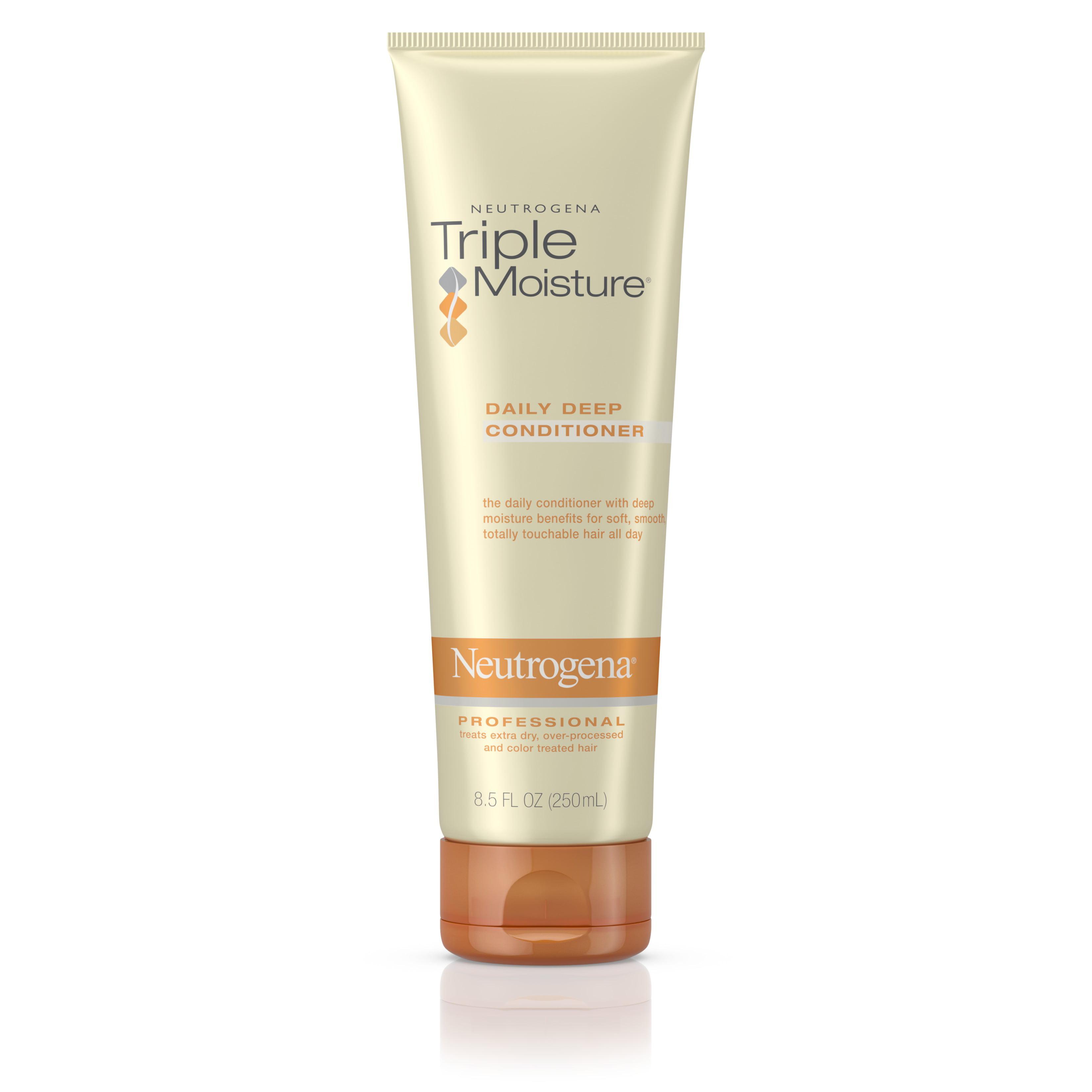 Neutrogena Triple Moisture Daily Deep Hair Conditioner, 8.5 fl. oz