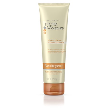 Deep Smoothing Conditioner (Neutrogena Triple Moisture Daily Deep Hair Conditioner, 8.5 fl.)
