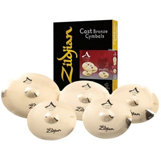 Zildjian A2057911 A Custom Series Box Cymbal Set