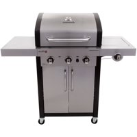 Char-Broil Professional IR 420 3-Burner Gas Grill + Grill Cover + Cool-Clean Brush XL