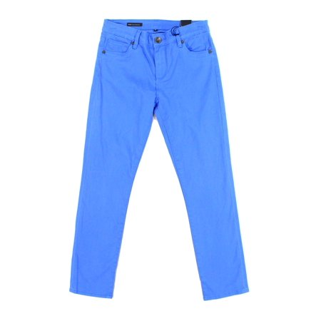 Kut from the Kloth NEW Blue Womens 0 Ankle Straight Leg Stretch