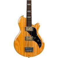 Supro Huntington II Ash Electric Bass Gloss (Natural)