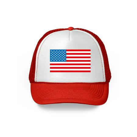 Awkward Styles USA Hat American Flag Hat USA Trucker Hat 4th of July Hats American Flag Hat USA Baseball Cap Patriotic Hat American Flag Men Women 4th of July Hat 4th of July Accessories - 4th Of July Baseball Hats