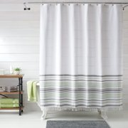 Turkish Stripe Shower Curtain, 1 Each by Better Homes & Gardens Image 1 of 3