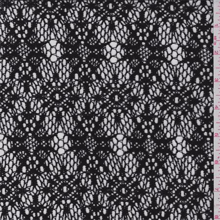 Black Lace Fabric By The Yard Walmart Com