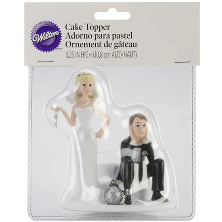 """Cake Topper 4""""-Ball & Chain - image 1 de 1"""