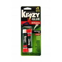 Krazy Glue KG517 Instant Krazy Glue All Purpose 0.07-Ounce 2-Pack
