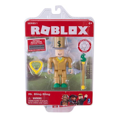 Roblox Series 1 Action Figure - Mr. Bling Bling](Mr Bones Halloween Figure)