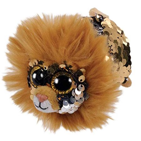 TY Beanie Boos - Teeny Tys Stackable Plush - REGAL the Lion (4 inch)