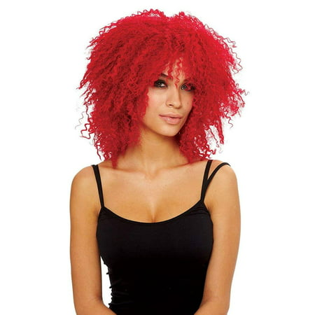 Coolness Women's Costume Wig - Neon Red](Red Chucky Wig)