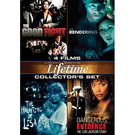 Lifetime Movies Collector's Set: The Good Fight / The Rendering / The Haunting Of Lisa / Dangerous Evidence (Lifetime Dvd Movies)