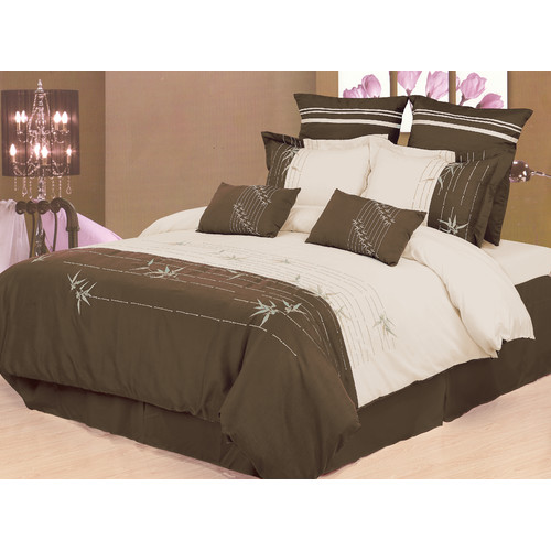 Superior Olivia 7-Piece Duvet Cover Set