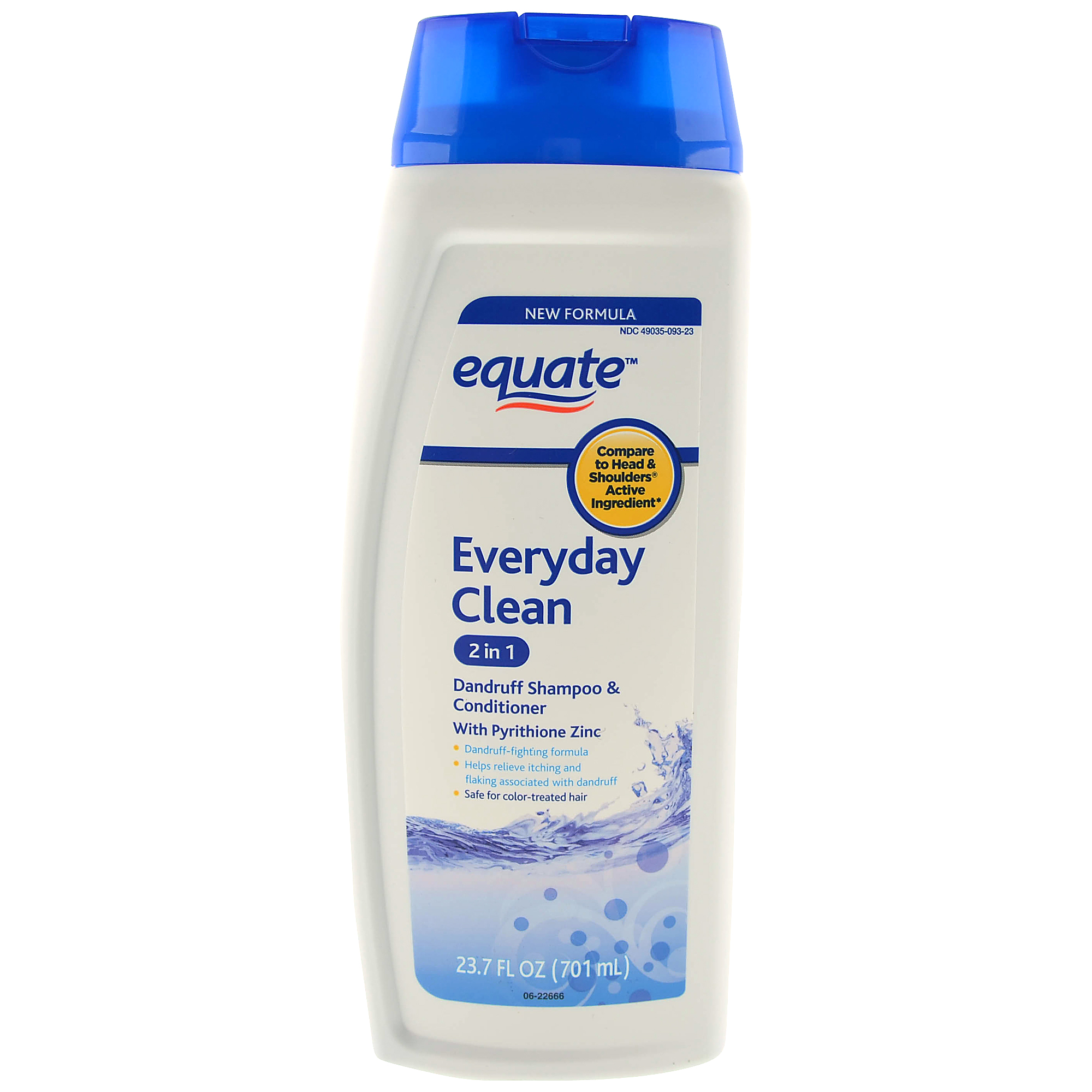 Equate Everyday Clean 2-in-1 Dandruff Shampoo and Conditioner, 23.7 fl oz