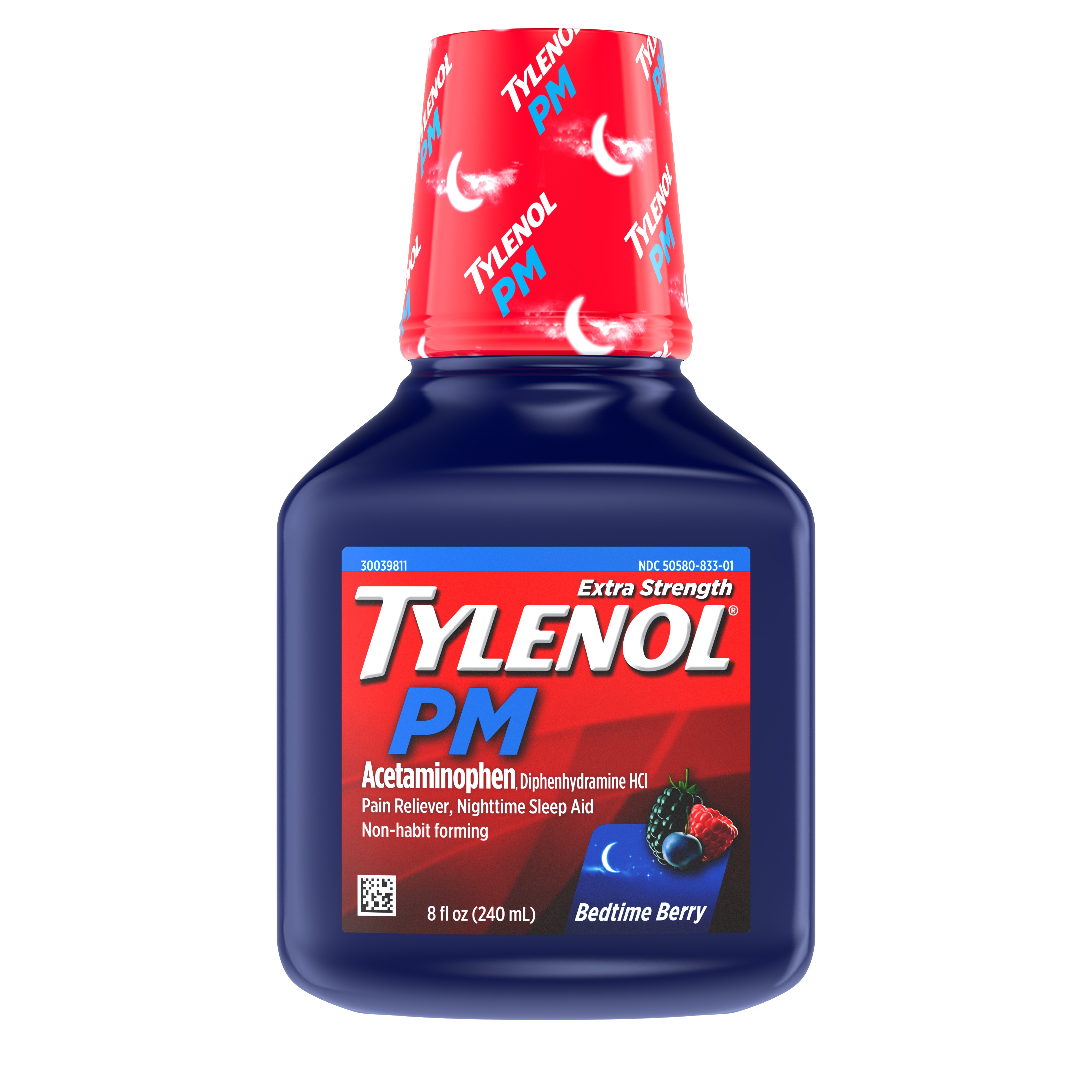 Tylenol PM Extra Strength Liquid Pain Reliever and Sleep Aid, 8 fl  Oz