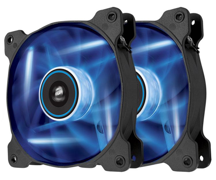 Corsair CO-9050031-WW SP120 Air Series 120mm Blue LED Case Fan Dual Two (2) Pack by Corsair