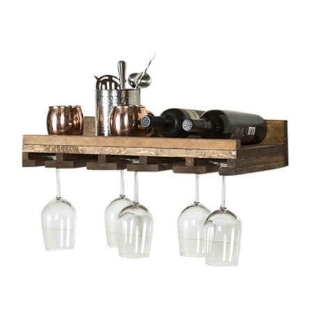 Union Rustic Oconner Wall Mounted Wine Gl Rack