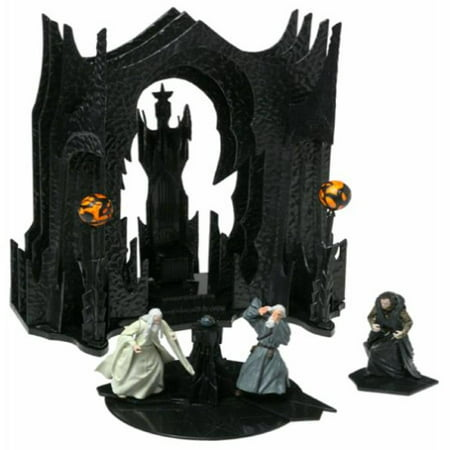 Lord Of The Rings Battle Scenes: Saruman's Chamber and Balcony Set 1/24