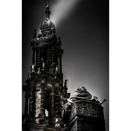 Peel-n-Stick Poster of Weekend Downtown Dresden East Germany Poster 24x16 Adhesive Sticker Poster Print