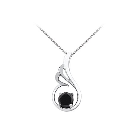 Onyx Designer Pendant In 925 Sterling Silver With Free Chain Unique Design And Best Price Range