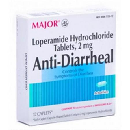 antidiarrhéiques Caplets 12 Caplets (pack de 3)