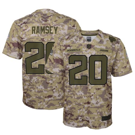 Nike Pro Camo (Jalen Ramsey Jacksonville Jaguars Nike Youth Salute to Service Game Jersey - Camo)