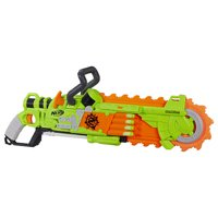 Nerf Zombie Strike Brainsaw Blaster with 8 Nerf Zombie Strike Darts