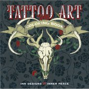 Lark Books-Tattoo Art Coloring Book