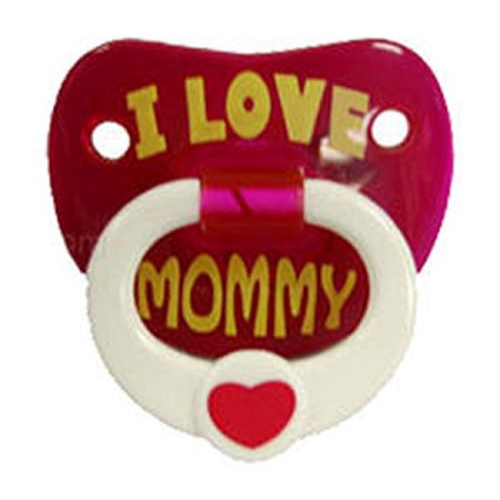 Billy Bob Pacifiers I Love My Mommy Pacifier - Halloween Pacifiers